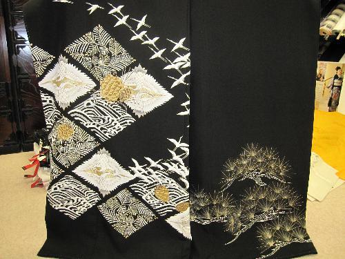 黒留袖(レンタル品)【229】