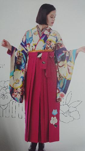 ブランド小袖(紅一点〔EMMA] 椿【026】