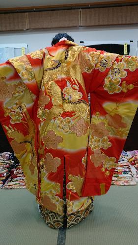 「バサラ」 赤鳳凰金刺繍