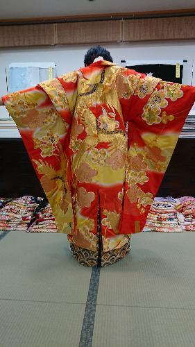 「バサラ」 赤鳳凰金刺繍【024】