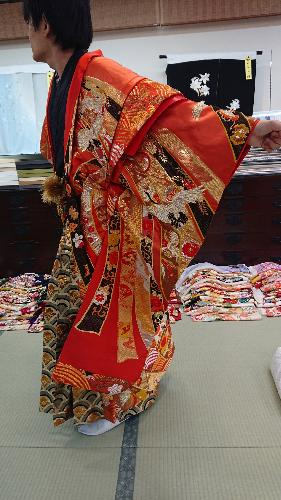[バサラ」 鶴に熨斗目【021】