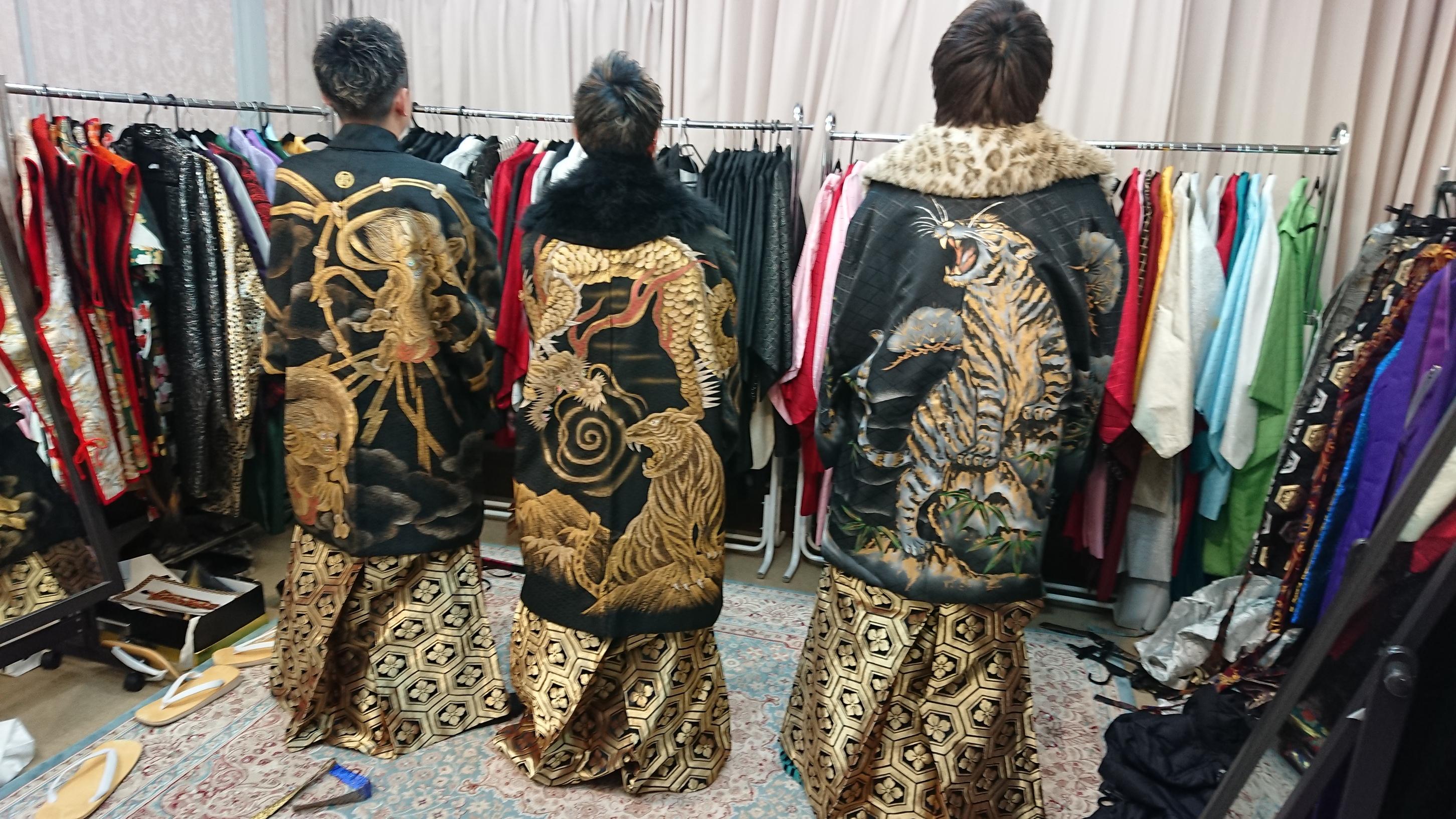 男性羽織・袴【452】