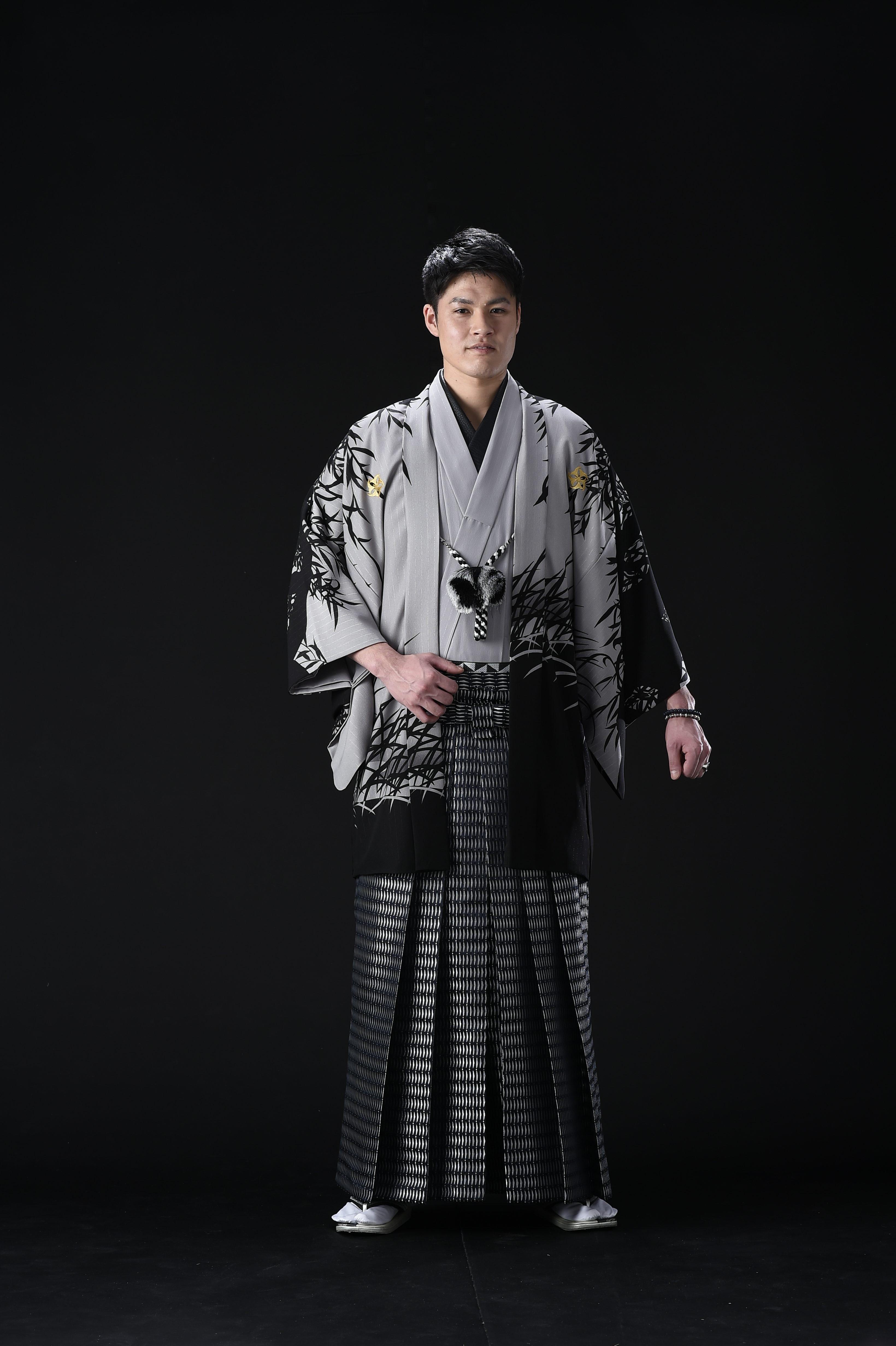 男性羽織・袴【496】