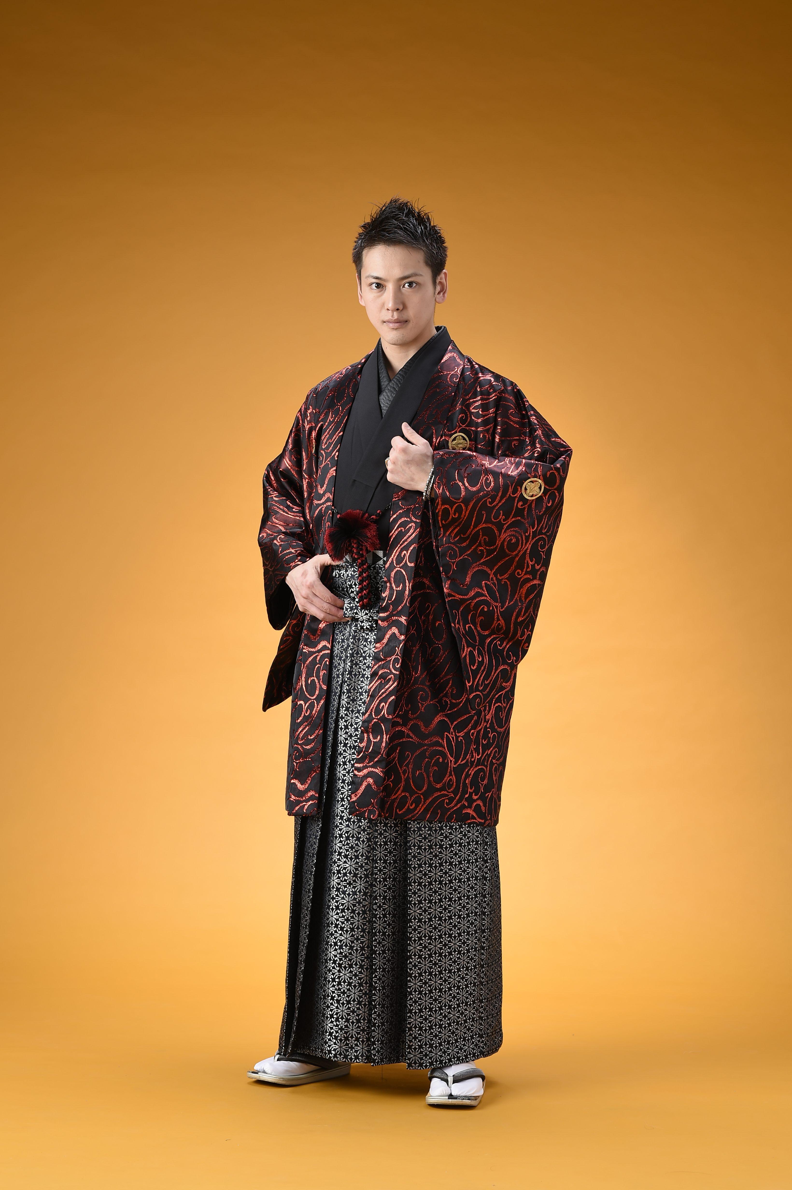 男性羽織・袴【498】