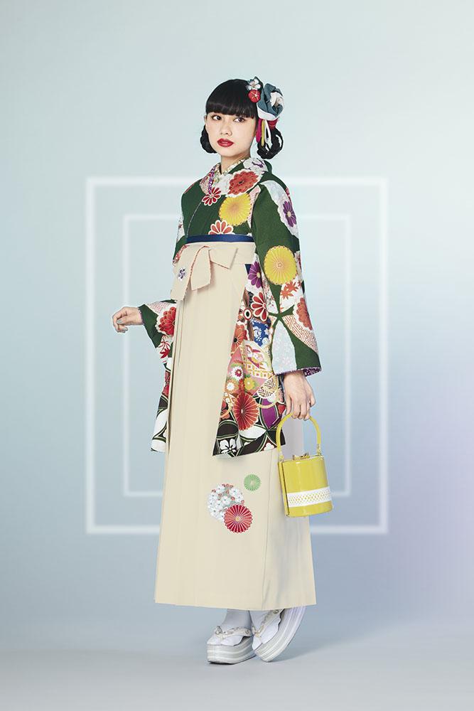 卒業袴・小袖【486】