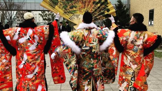 特別な記念日を袴姿で