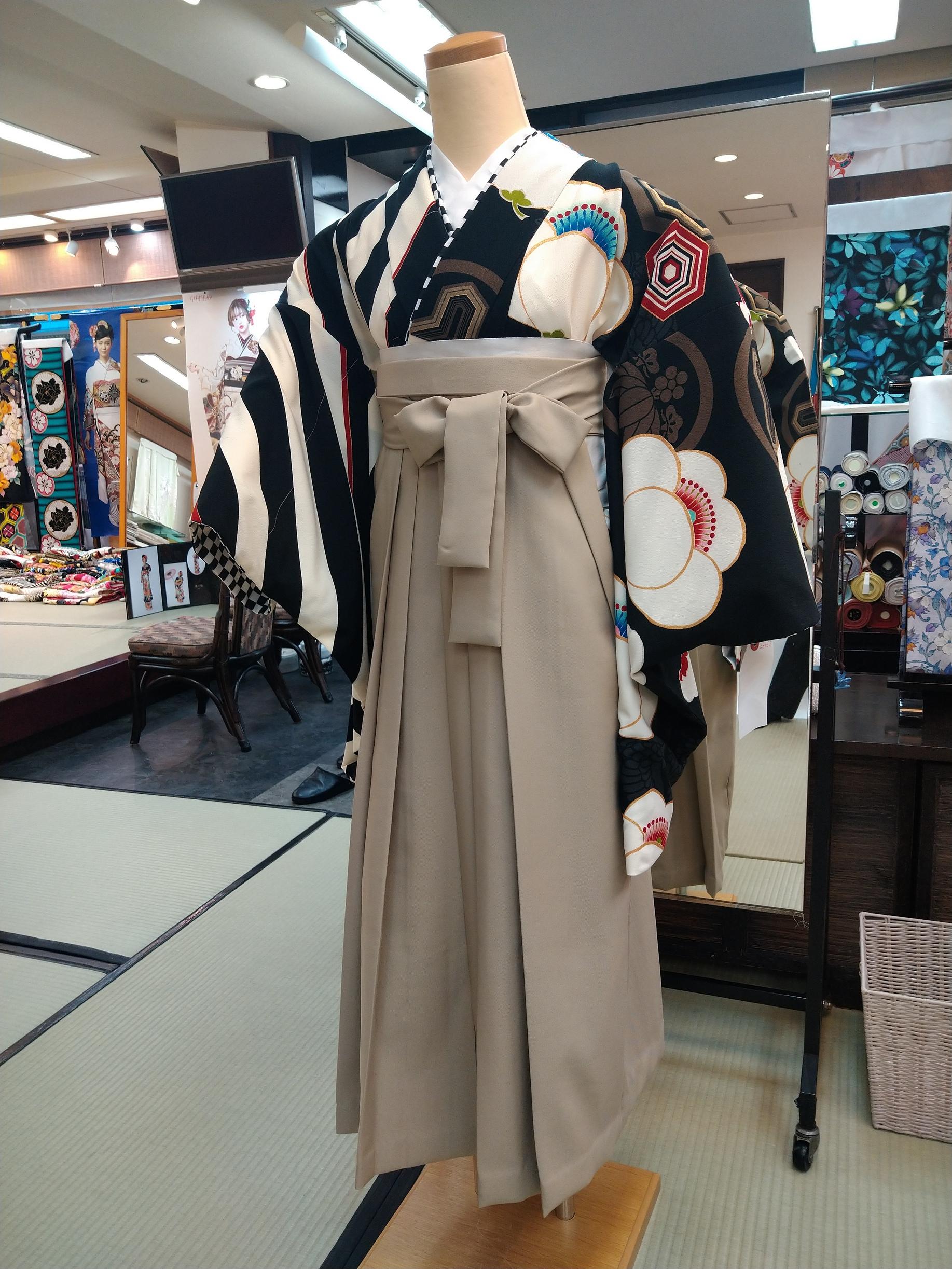卒業袴・小袖【667】